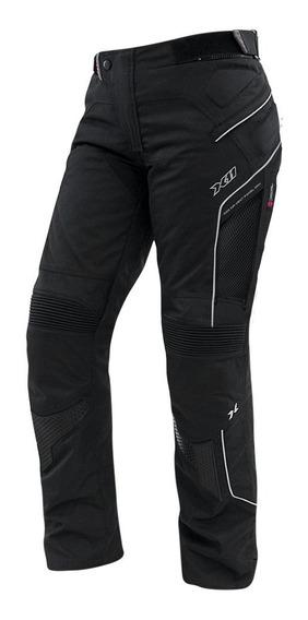 Calça X11 Extreme Air Feminina Preta Impermeável Moto