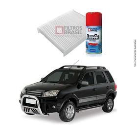 Kit Filtro Ar Condicionado Higienizador Ford Ecosport 02/12