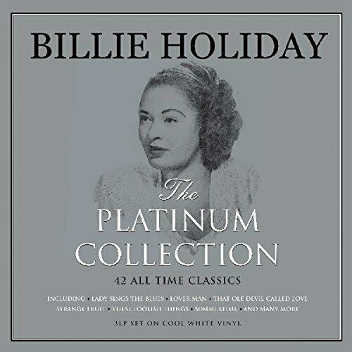 Lp Billie Holiday The Platinum Collection 3lps Leia Descriçã