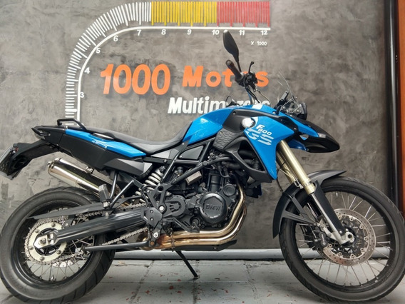Bmw F 800 Gs 2014 Otimo Estado Aceito Moto
