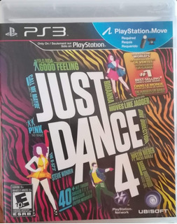 Just Dance 4, Ps3, Nuevo