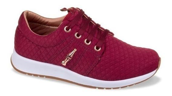 Tenis Jogging Coca-cola Shoes Sense Plus Cc1441 Borbo