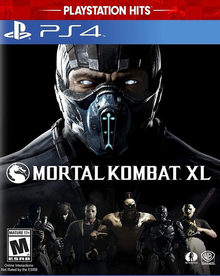 Mortal Kombat Xl Ps4 Mídia Digital Promoção Primaria Barato