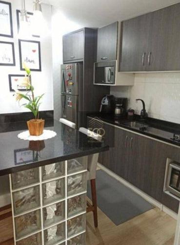 Imagem 1 de 9 de Apartamento À Venda, 55 M² Por R$ 202.000,00 - Forquilhas - São José/sc - Ap2173
