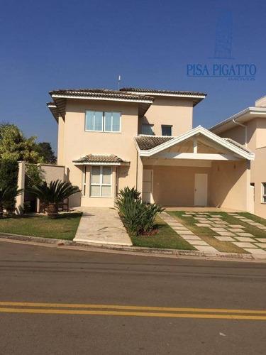 Casa Com 3 Dormitórios À Venda, 259 M² Por R$ 1.250.000,00 - Condomínio Metropolitan Park - Paulínia/sp - Ca1870