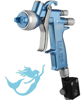 Pistola Para Pintar 807 Aqua 1.3mm Soplete Maer Pintumm