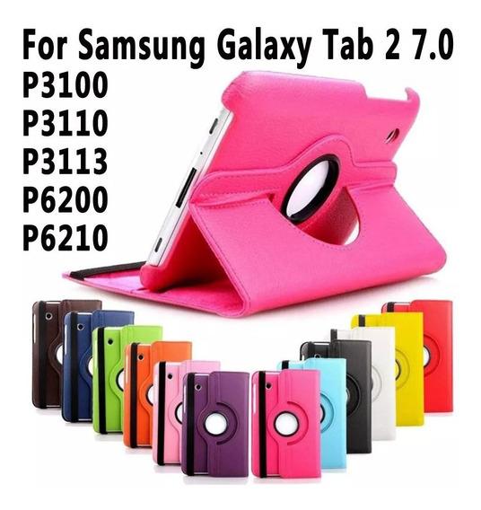 Capa Carteira Tablet Samsung Galaxy Tab 2 Giratoria Novas