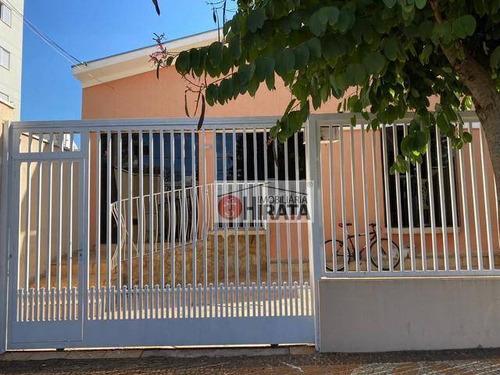 Casa Com 3 Dormitórios À Venda, 184 M² Por R$ 531.000,00 - Vila Nova - Campinas/sp - Ca1591
