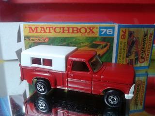 Miniatura 1970 Matchbox Pick Up + Cx Custom #est Az
