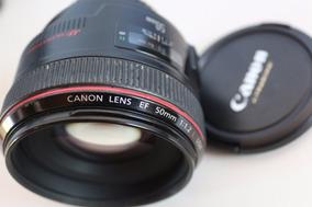 Lente 50mm 1.2 Usm Canon (estado Nova)