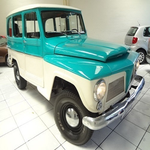 Ford Rural Willys 1973 6cc 4x2