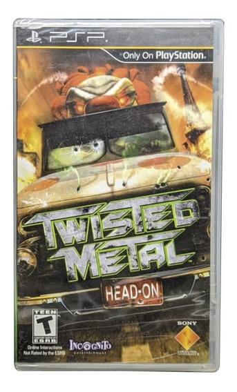 Twisted Metal Psp Mídia Física Pronta Entrega