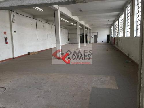 Imagem 1 de 7 de Salão Para Alugar, 450 M² Por R$ 6.750,00/mês - Rudge Ramos - São Bernardo Do Campo/sp - Sl0106