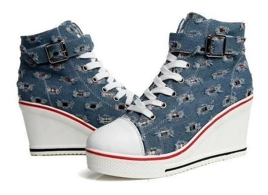 Sneaker Feminino De La Chance 06917 Importado