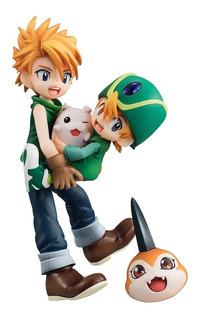 Gem Yamato & Takeru & Tsunomon & Tokomon- Digimon