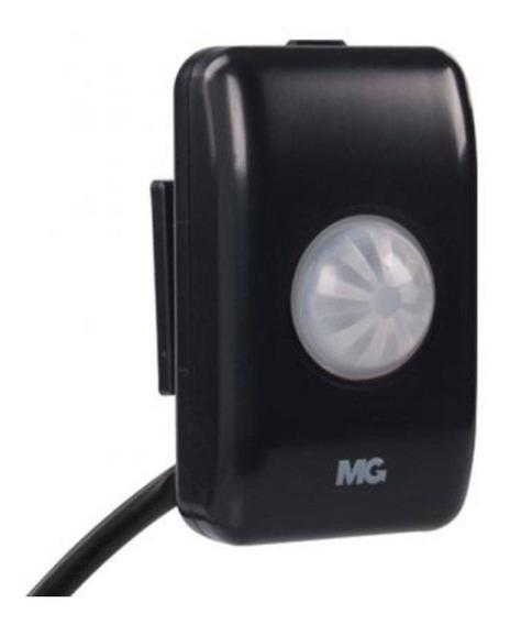 Sensor Presença Sobrepor Teto Fotocelula Mpt-40sf Preto