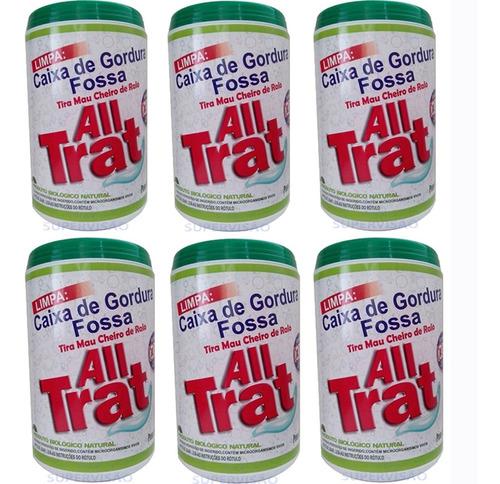 All Trat 3kg Limpa Fossa Caixa De Gordura Enzimas Promocao