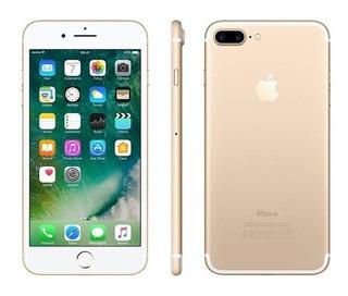iPhone 7 Plus 32gb Dourado Tela Retina Hd 5,5 3d