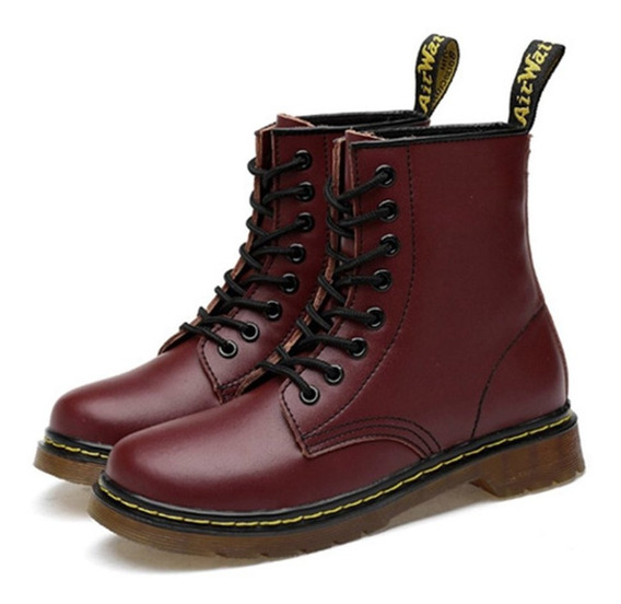 Mujeres Dr Martens Pascal Virginia Cuero Suave Retro Punk Be