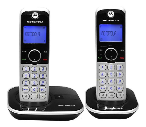 Telefono Inalambrico Motorola Gate4800-2 Altavoz Full Duplex