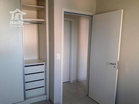 Apartamento No Edifício Petite Maison, Com 2 Dormitórios À Venda, 59,00 M² Por R$ 255.000 - Jardim Aquinópolis - Presidente Prudente/sp - Ap0303