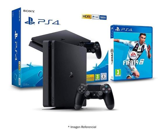 Consola Sony Play Station Ps4 500gb Fifa 19