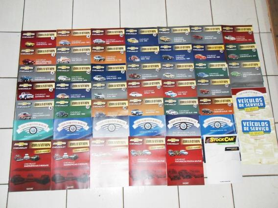 Kit 57 Revistas Chevrolet Colection Especiais Inesquecíveis