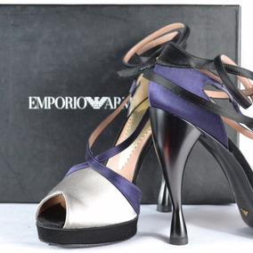 Emporio Armani 3 Mex Zapatillas Negro/morado