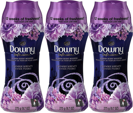 3 Downy Un Stopables Unstopables 275g Perfume Para Roupa