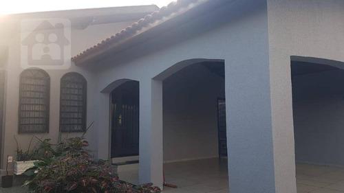 Casa Com 3 Dormitórios À Venda, 230 M² Por R$ 599.000,00 - Vila Santa Maria - Araçatuba/sp - Ca0385