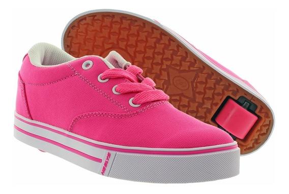 Zapatos Para Niñas Launch Marca Heelys C/ Ruedas T-40.5 Y 38