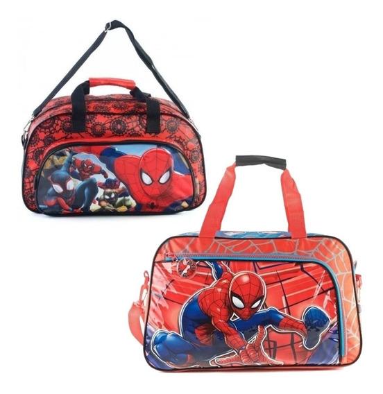 Bolso Spiderman Grande Mmk 11217