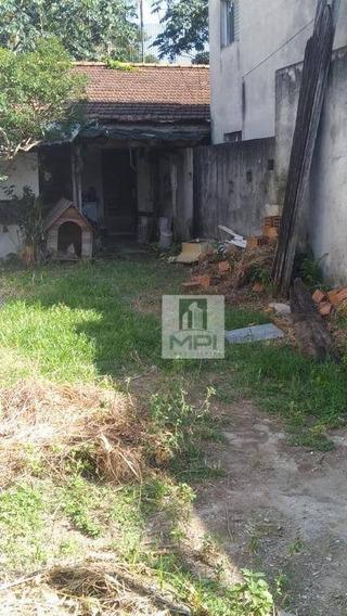 Terreno À Venda, 260 M² Por R$ 652.000 - Carandiru - São Paulo/sp - Te0066