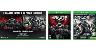 Gears Of War Ultimate Edition + Gears Of War 4 Xbox One Disc