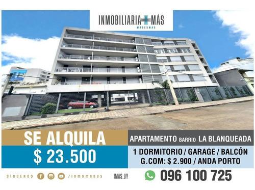 Imagen 1 de 16 de Apartamento Alquiler La Blanqueada Garage Montevideo Lc *