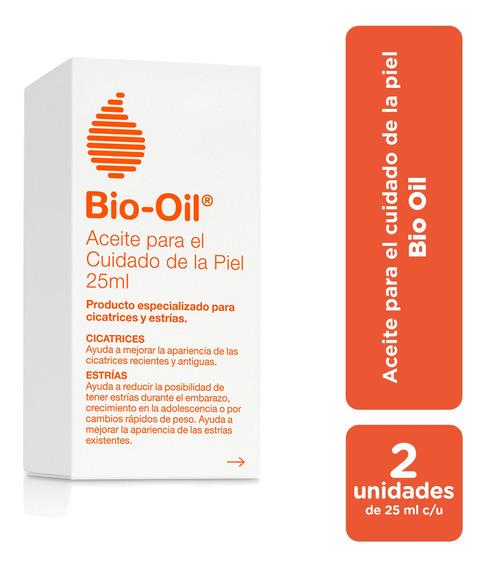 Bio Oil Para Cicatrices, Estrías Y Manchas 25 Ml - Pack X2