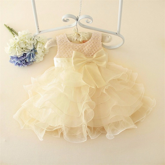Vestido De Festa Infantil Bebê Fashion - Menina Batizado