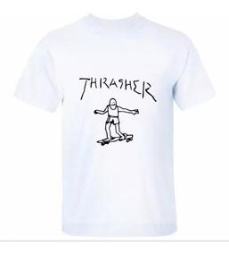 Camiseta Camisa Skate Thrasher 100%algodão Ótima Qualidade