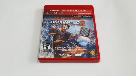 Jogo Uncharted 2 Among Thieves - Ps3 - Original