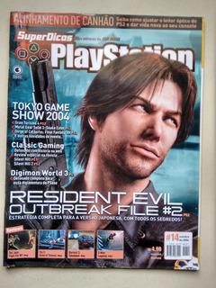 Revista Playstation 14 Resident Evil Ps2 Digimon World D572
