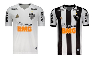 Kit 2 Camisas Atletico 2019 Trad E Branca Le Coq Frete Grat