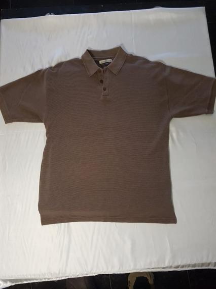 Camisa Tipo Polo Tommy Bahamas Usada Talla L Camisa De Seda