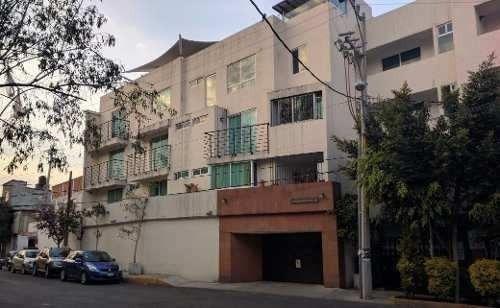 Departamento En Venta- Pent House, Independencia, Tlalpan