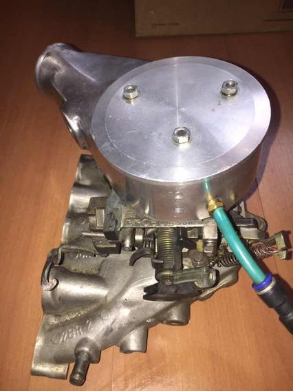 Carburador Brosol 3e Álcool P/ Turbo Com Mufla E Coletor Ap