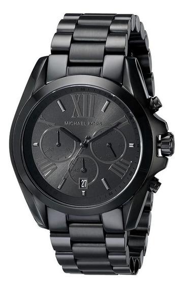 Relógio Michael Kors Feminino Mk5550/1pi Cronog. All Black