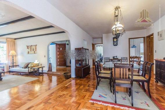 Casa Residencial À Venda, Três Figueiras, Porto Alegre. - Ca0413