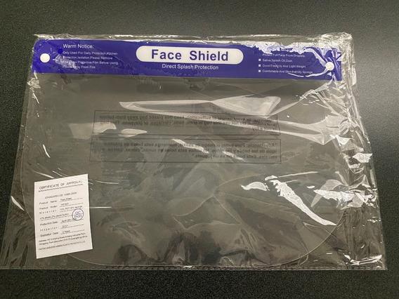 Paquete De 6 Careta Protector Face Shield Original Cal 25