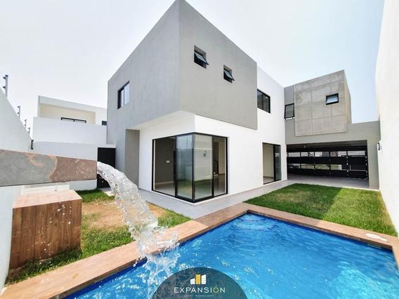 Casa En Venta 3 Habitaciones Con Alberca En Las Palmas. Boca Del Río, Ver