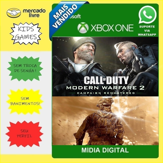 Call Of Duty Modern Warfare 2 Remastered | Xbox One |digital