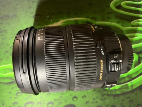 Lente Sigma 18-200mm F/3.5-6.3 Ii Dc Os Hsm